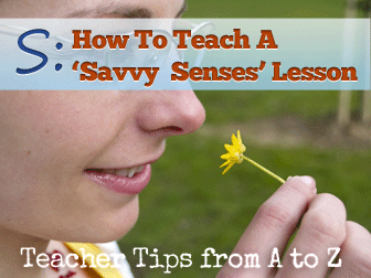S: Savvy Senses - It�s All About Observation [Teacher Tips from A to Z]