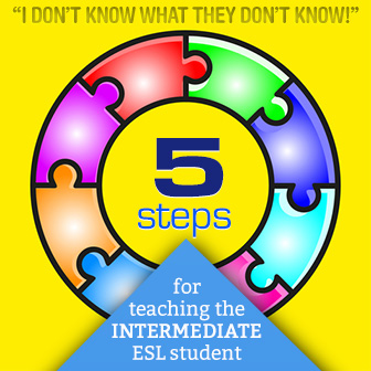 I Don�t Know What They Don�t Know: 5 Steps for Teaching the Intermediate ESL Student
