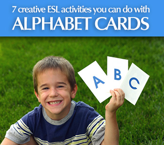 What You Can Do with Alphabet Cards � 7 Creative ESL Activities