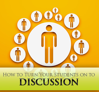 From I Don�t Want to Talk about It to I Can�t Wait to Talk about It!: Turning Your Students on to Discussion