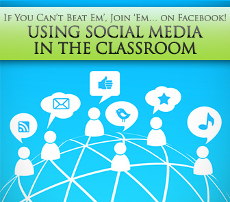 If You Can�t Beat Em�, Join 'Em� on Facebook! Using Social Media in the Classroom