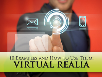 Virtual Realia: 10 Examples and How to Use Them in an ESL Class
