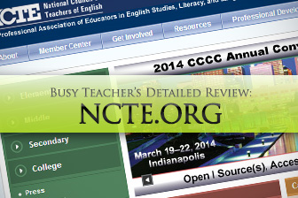Ncte.org: BusyTeacher's Detailed Review