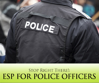 Stop Right There!: ESP for Police Officers