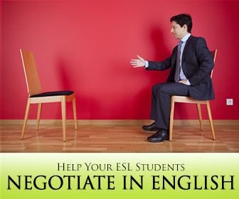 Do We Have a Deal? Help Your ESL Students Negotiate in English