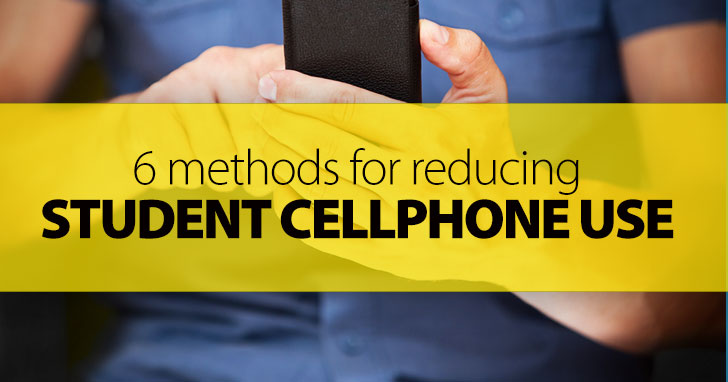 Disconnecting from The Matrix: 6 Methods for Reducing Student Cellphone Use