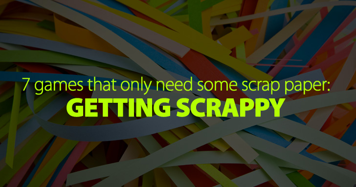 Getting Scrappy: 7 No-prep Games That Only Need Some Scrap Paper