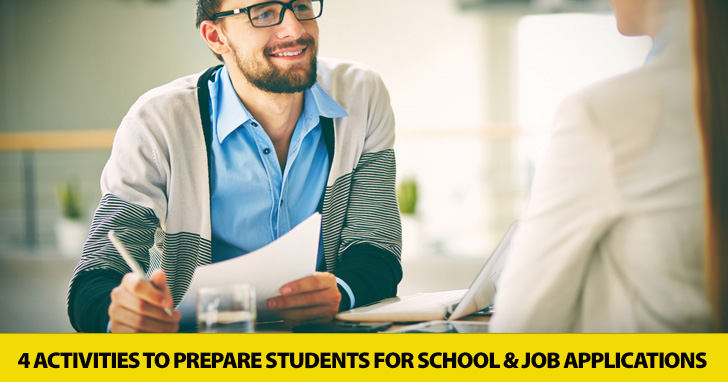 You�re Hired! 4 Activities to Prepare Students for School and Job Applications