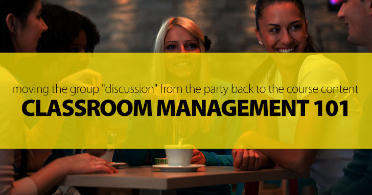 Classroom Management 101: Moving the Group