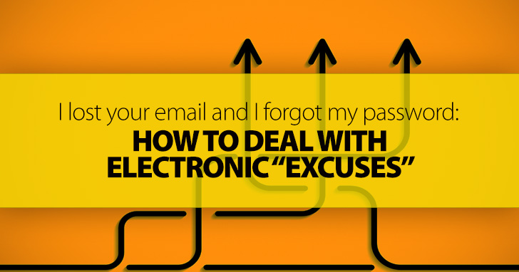 Turnitin Isn�t Working, I Lost Your Email, and I Forgot My Password: Dealing with Electronic �Excuses�