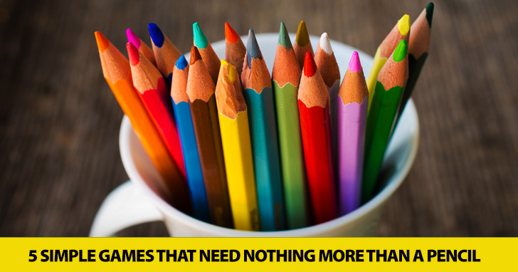 Pencils Out: 5 Simple Games That Need Nothing More Than a Pencil
