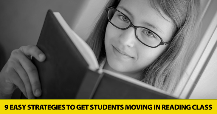 Turning Pages Isn�t Enough: 9 Easy Strategies to Get Students Moving in Reading Class