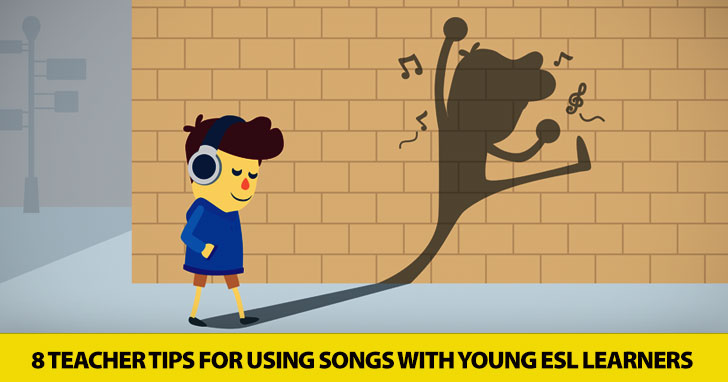 With a Song in their Hearts: 8 Teacher Tips for Using Songs with Young ESL Learners