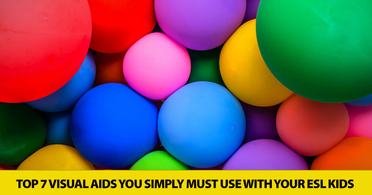 Top 7 Visual Aids You Simply Must Use with Your ESL Kids