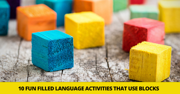 Stack �em Up! 10 Fun Filled Language Activities That Use Blocks