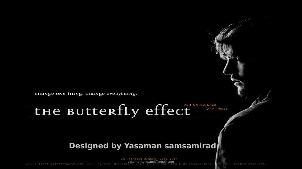 Movie Worksheet: The Butterfly Effect PPT
