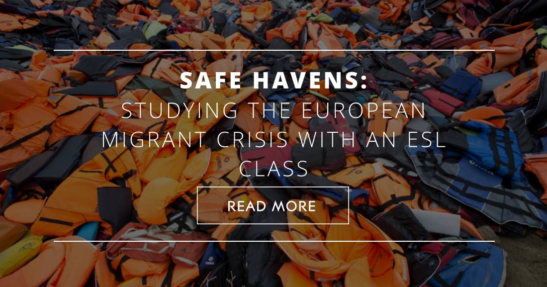 Safe Havens: Studying the European Migrant Crisis with an ESL Class