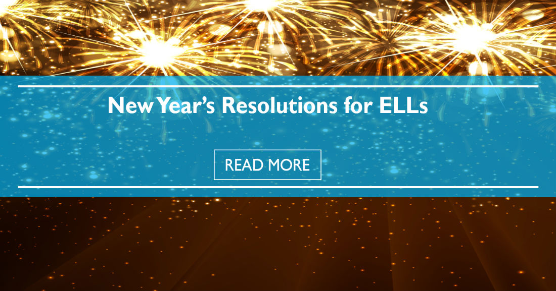 New Year's Resolutions For ELLs