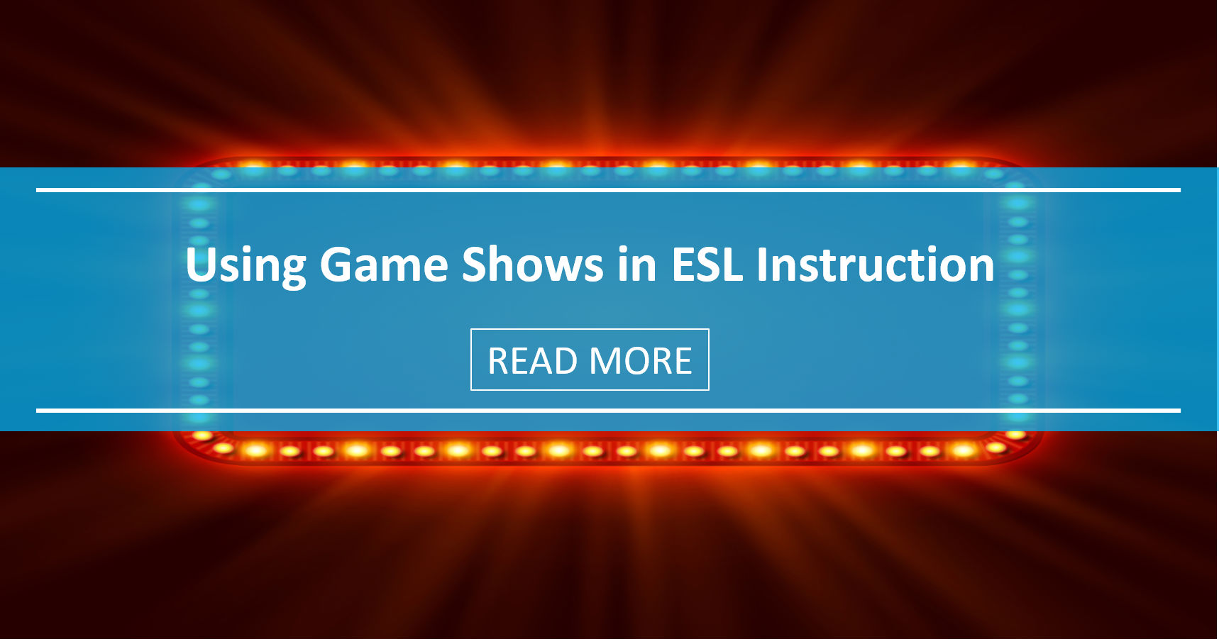 Using Game Shows in ESL Instruction